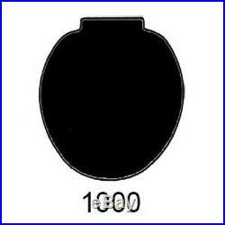 BLACK Toilet Seat for Case 1000, 3000, 2nd ModelA