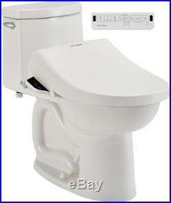 Bidet Toilet Seat 2.0 Slow Close SpaLet Electric Elongated White Plastic