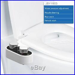Bidet Toilet Seat Non Electric Attachment Spray Nozzle Bathroom Cleaning Sprayer