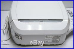 Bio Bidet BB-600 Elongated Bidet Seat White. Untested AS IS #811