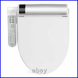 Bio Bidet BLISS BB-1700 Elongated White Bidet Toilet Seat Warm Water, Heater