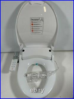 Bio Bidet Slim ONE Smart Toilet Seat in Elongated White with Turbo Wash