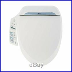 Bio Bidet Ultimate BB-600 Advanced Bidet Toilet Seat Round White. Easy DIY In