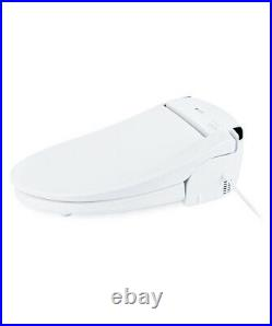 Brondell CL950 Electric Bidet Toilet Seat Elongated White + Remote