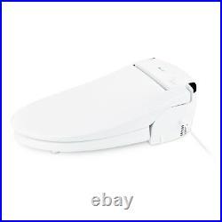 Brondell SE600 Advanced Electric Bidet Toilet Seat Elongated White +Remote