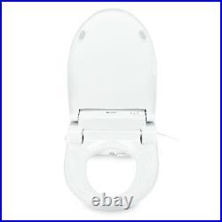 Brondell SE600 Advanced Electric Bidet Toilet Seat Round White with Remote
