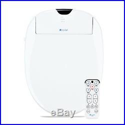 Brondell Swash 1000 Bidet Electric Advanced Toilet Seat Elongated White + Remote