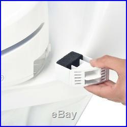 Brondell Swash 1200 Luxury Electric Bidet Toilet Seat Round White Open Box