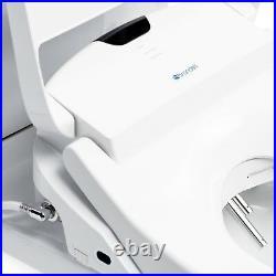 Brondell Swash 1400 Luxury Electric Bidet Toilet Seat Round White + Remote
