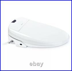 Brondell Swash S1400-EW Luxury Electric Bidet Toilet Seat Elongated White Remote