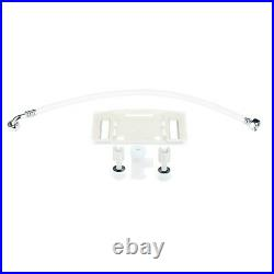 Brondell Swash SE400 Electric Round Bidet Seat with Air Dryer White Open Box