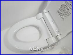 Brondell Swash SE600 Bidet Toilet Seat, Fits Elongated Toilets, White