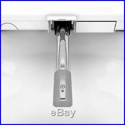 Electric Bidet Seat Elongated Toilets Adjustable Pressure Water Stream 3 in 1