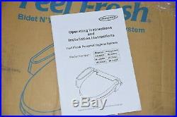 HomeTech Feel Fresh HI-4001 White Bidet Washing Toilet Seat ELONGATED
