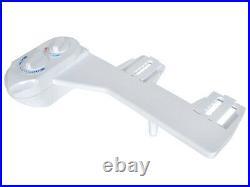 Hot/Cold Nozzle Non-Electric Bidet Toilet Attachment Water Spray Bathroom Seat