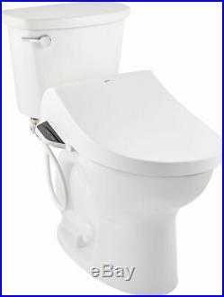 Inax 8012A70GRC Advanced Clean Elongated Heated Bidet Seat White