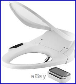 KOHLER Bidet elongated Seat, Touchscreen Remote, Heated seat, K-4108-0, White