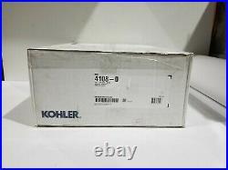 KOHLER C3 230 Electric Bidet Seat for Elongated Toilets in White K-4108-0