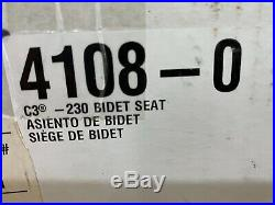 KOHLER C3-230 Elongated cleansing toilet seat 4108-0