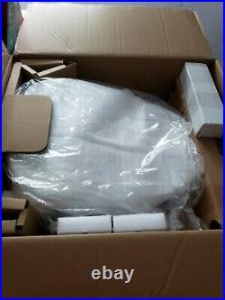 KOHLER K-8298-0 C3 155 Elongated Warm Water Bidet Toilet Seat White Quiet-Close