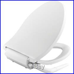KOHLER Non Electric Bidet Elongated Toilet Seat White Single Wand Water Spray