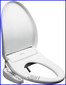 KOHLER Novita Electric Bidet Seat Round Toilets White Plastic Round Horizontal
