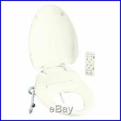 Kohler K-4744-0 C3 201 Elongated Toilet Seat with Bidet Functionality