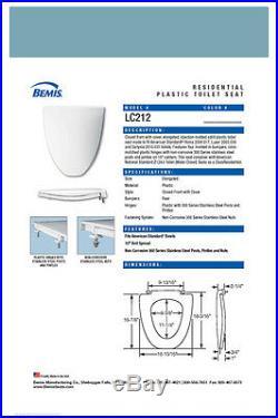 LC212-064 REGENCY BLUE Toilet Seat American Standard