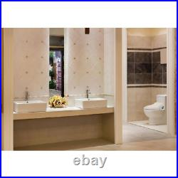 NEW Bio Bidet BB-1000 Supreme Bidet Toilet Seat, Wireless Remote, Elongate White