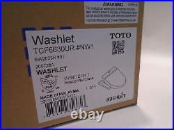 New & Sealed Toto Washlet Tcf6630ur #nw1 Sw2033r Electronic Bidet Seat