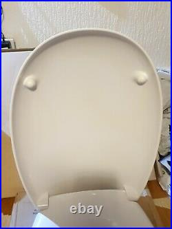 Pozzi ginori egg toilet seat white WC chrome hinge code 51761 no34