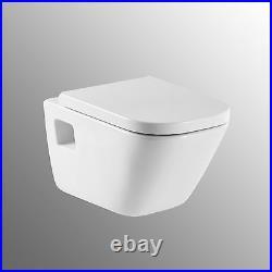 ROCA The Gap Wall Hung WC Toilet Pan