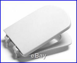 Roca DAMA SENSO COMPACT MKII SOFT CLOSE TOILET SEAT Quick Release WHITE/CHROME