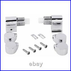 Roca Replacement Soft Close Toilet Seat Hinge Set & Dampers in Chrome AI0001200R