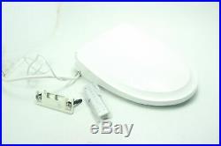 SEE NOTES TOTO SW3044#01 S500e WASHLET Electronic Bidet Toilet Seat Elongated