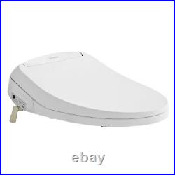 SmartBidet SB-100R Electric Bidet Seat for Most Elongated Toilets with Remote