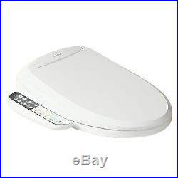 SmartBidet SB-110 Electric Bidet Toilet Seat for Elongated Toilets -Refurbish
