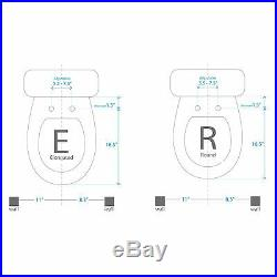 SmartBidet SB-2000 Electric Bidet Toilet Seat for Elongated Toilets -Refurbished