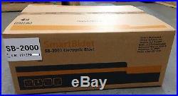 SmartBidet SB-2000 Electric Bidet Warm Toilet Seat for Elongated Toilets White