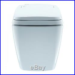 Smart Toilet Bidet System Auto Open Seat Lid Flushing Wireless Remote Control