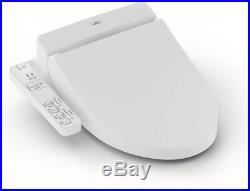 TOTO A100 Bathroom Bidet Toilet Seat Washlet Plastic Elongated Heated Adjustable