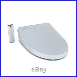 TOTO K300 WASHLET Electric Bidet Seat for Elongated Toilet in Cotton White