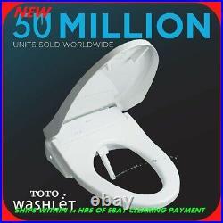 TOTO S350E Washlet SW584T20#01 Elongated Bidet Toilet Seat Cotton White R20