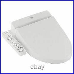 TOTO SW2033R#01 WASHLET C100 Round Bowl Washlet Seat Cotton White