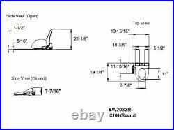 TOTO SW2033R-01 Washlet C100 Round Bidet Toilet Seat, Cotton White