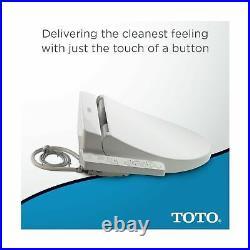 TOTO SW2034#01 C100 Washlet Electronic Bidet Toilet Seat PreMist Elongated White