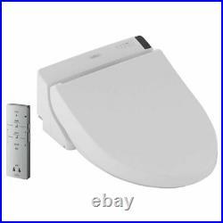 TOTO SW2043R#01 WASHLET C200 Round Bowl Washlet Seat Cotton White