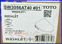 TOTO SW3056AT40#01 Cotton Washlet Elongated Closed Bidet Seat