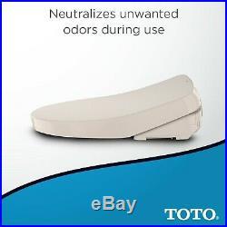TOTO SW3056#12 S550e WASHLET Electronic Bidet Toilet Seat with EWATER+ and Au