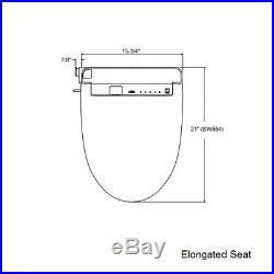 TOTO SW554-12 S300 Washlet Elongated Bidet Toilet Seat with RC, Sedona Beige